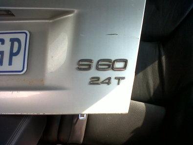 volvo S 60 to strip