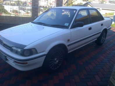 1996 toyota corolla 1 6i for sale toyota 33452791 junk mail classifieds. Black Bedroom Furniture Sets. Home Design Ideas