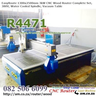 Woodworking 3kw 1300mm x 2500mm CNC Wood Router