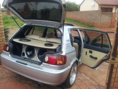 Toyota Tazz Sport Interior