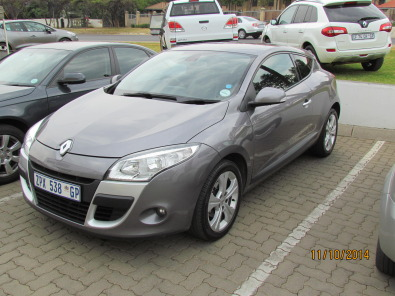 2010 renault megane 3 1 4 tce dynamic coupe r13990 randburg renault junk mail classifieds. Black Bedroom Furniture Sets. Home Design Ideas