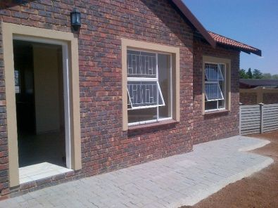 For sale new exclusive townhouse double garage for Townhouse plans with double garage
