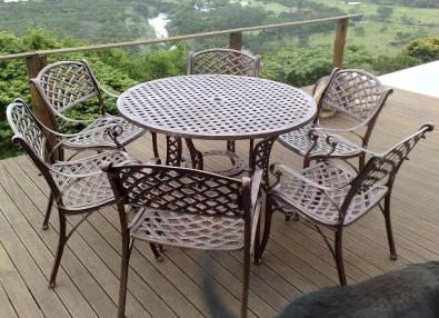 Cast Aluminium Outdoor Patio Garden Furniture Sandton