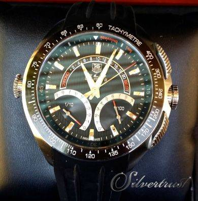 Tag heuer slr limited edition for mercedes benz for Tag heuer mercedes benz slr