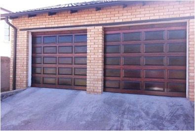 Single Panel Wooden Garage Doors For Sale Windows And