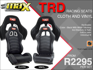 TRD Racing Seats