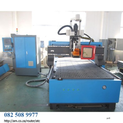 Rotary ATC CNC woodwork Milling Machine w.9kW Spin