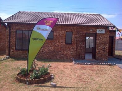 Face brick houses in protea glen ext 27 soweto houses for Face brick homes