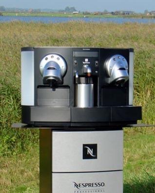 nespresso pro coffee machine