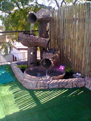 Pretoria water features and rock art garden furniture for Landscaping rocks for sale johannesburg