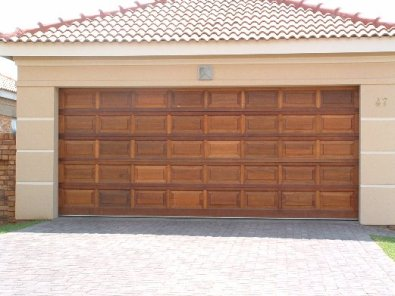 Double panel wooden garage doors for sale for Garage windows for sale