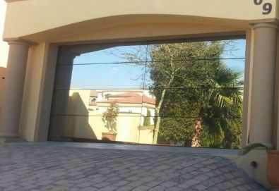 Aluminium glass frameless garage doors for sale for Garage windows for sale