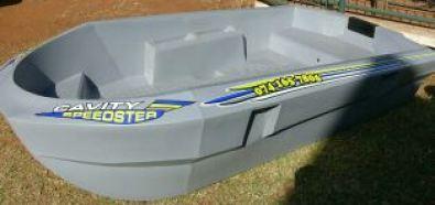 Cavity speedster small plastic bass fishing boat gauteng for Small plastic fishing boats