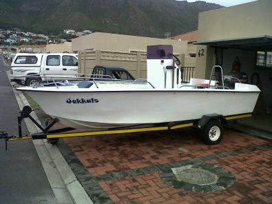 16ft centre console fishing boat with 60hp yamaha gordon for Yamaha fishing boats