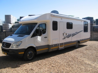 Mercedes benz sprinter 518 extended chassis other for Mercedes benz sprinter chassis motorhomes