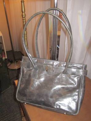 Ladies Handbag Beautiful Grey Like New