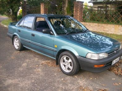1998 toyota corolla 160i for sale delmas toyota junk mail classifieds 36519225. Black Bedroom Furniture Sets. Home Design Ideas