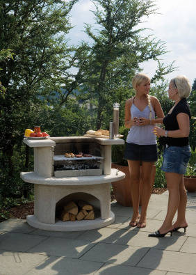 German importet concrete braais on sale now garden for Landscaping rocks for sale johannesburg