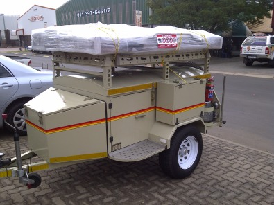 Cool Trailers  VENTER CAMPING TRAILER WITH TENT AND CAMPING EQUIPTMENT Was