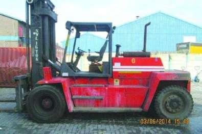 16 Ton Kalmar DC160-6