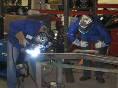 Welding plumbing and carpentry courses with jobs for Motoring technical training institute