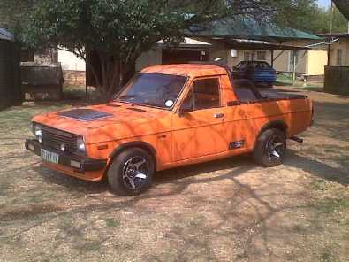 Nissan 1400 Bakkie With Toyota Twincam 16v Motor South