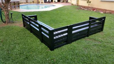 Pallet Wood Garden Or Patio Corner Sets For Sale
