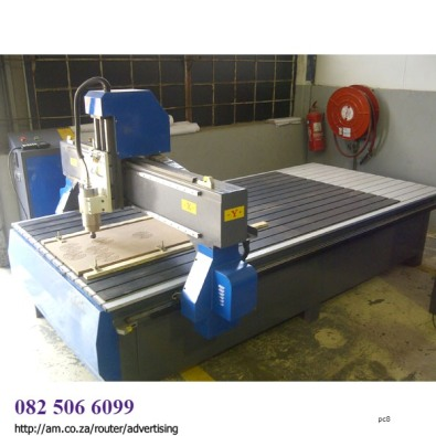 2000x4000mm 7.5kW CNC Sign-Making Router for Sale,