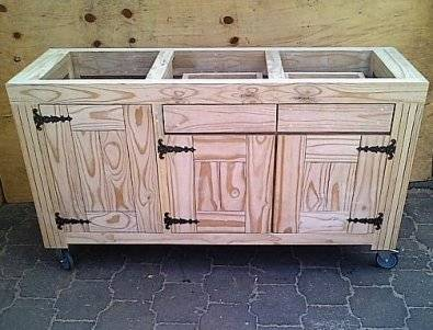 Kitchen island farmhouse de lux series 1550 raw brakpan for Kitchen furniture johannesburg