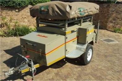 Beautiful Venter Botswana Special Camping Trailer  Randburg  Trailers