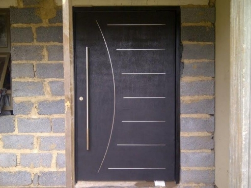 Wooden doors richards bay pivot doors richards bay for Oversized exterior doors for sale