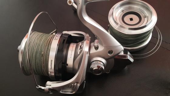 Used fishing reel for sale shimano ultegra 1400 xsc for Used fishing reels for sale
