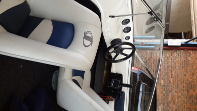 2006 Sensation with 115 mercury motor for sale