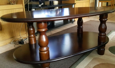 Tv stand with matching coffee table roodepoort lounge for Matching tv stand and coffee table