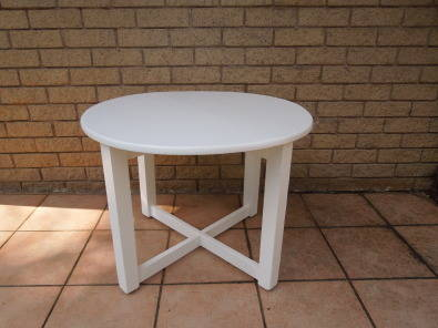 White 750mm coffee table durban lounge furniture for Coffee tables durban