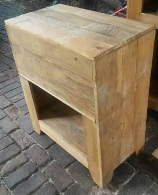 Wooden kitchen island with storage and shelf 219 for Kitchen island johannesburg