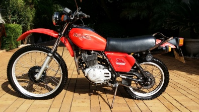 vintage honda xl 500 s 1981 | east rand | motorcycling and
