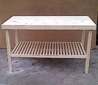Kitchen island f s 1600 solid top extended width brakpan for Kitchen island johannesburg