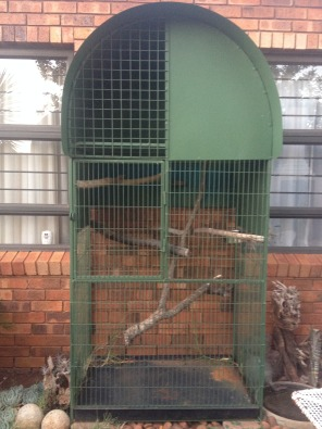 Cage for sale.