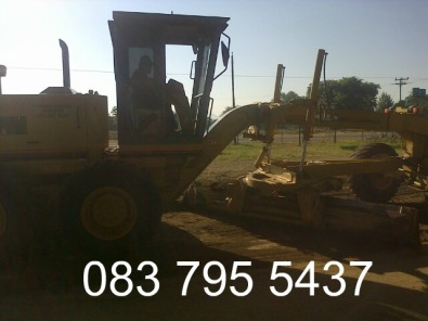 GRADER FOR HIRE IN BRITS