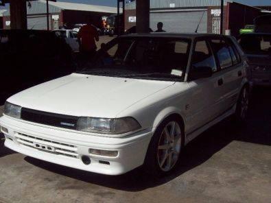 1991 TOYOTA QONQUEST 16 VALVE RSI TWINCAME