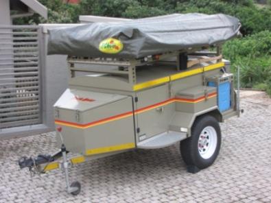 Elegant Echo 4 Camping Trailer For Sale  Randburg  Trailers  64294962