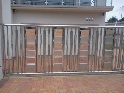 Stainless Steel Driveway Gates Burglar Guards Etc
