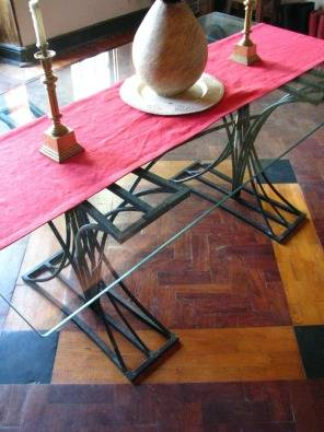 Glass dining room table cape town diningroom furniture for Dining room tables for sale cape town
