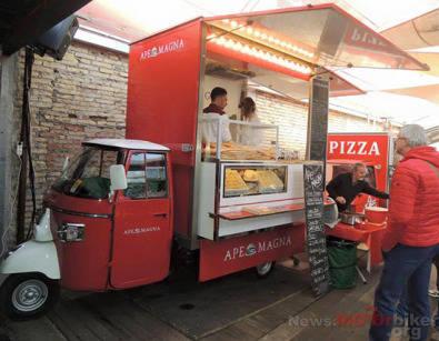 Ice Cream Gelato Cafe Vehicle Food Truck Frozen Yogurt