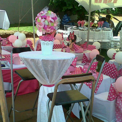 kiddies parties with tiffany chairs pretoria west catering
