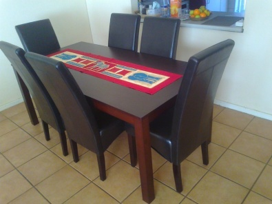 Dining table with 6 chairs johannesburg diningroom for Dining room tables jhb