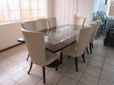 Exclusive Dining Table Suite With 8 Chairs In Exce
