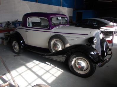1934 chevrolet 3 window dickey seat coupe classic cars for 1934 chevrolet 3 window coupe