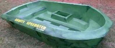 Cavity speedster small plastic fishing boat west rand for Small plastic fishing boats